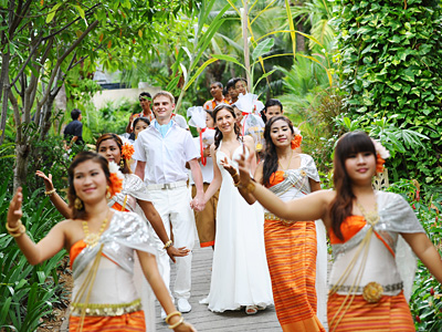 thai & western wedding package